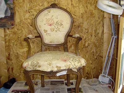 Restauraci n tapicer a en madrid - Sillones para restaurar ...