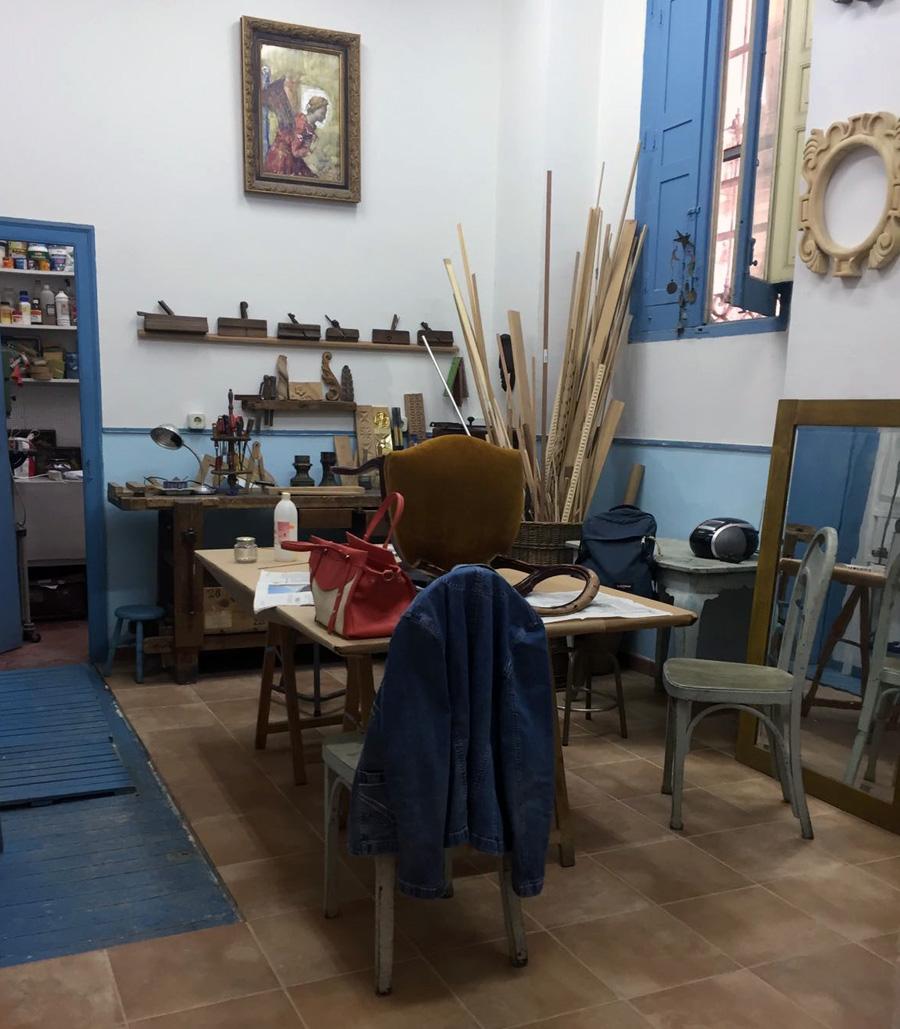 Restauraci n la salamandra - Cursos restauracion muebles madrid ...
